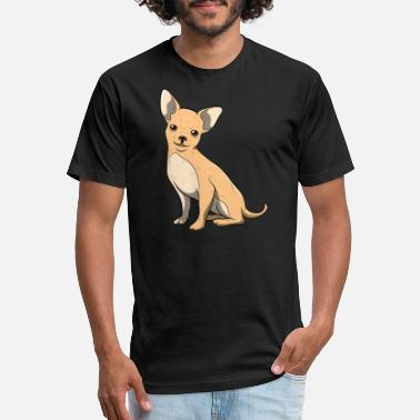Fourlegged Friends Chihuahua Pet Dog Owner Dog Gift - Unisex Poly Cotton T-Shirt