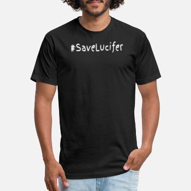 Lucifer Wings Save Lucifer - Unisex Poly Cotton T-Shirt