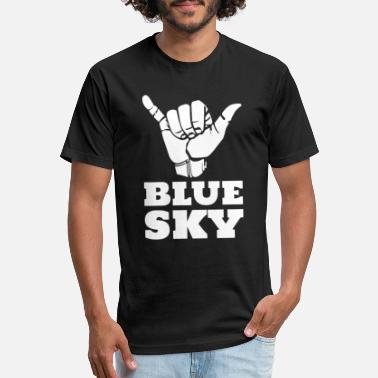 Blue Sky Skydiving Blue Sky - Unisex Poly Cotton T-Shirt