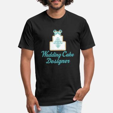 Wedding Cake Wedding Cake Designer - Unisex Poly Cotton T-Shirt
