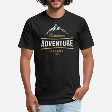 Outdoor outdoor adventure - Unisex Poly Cotton T-Shirt