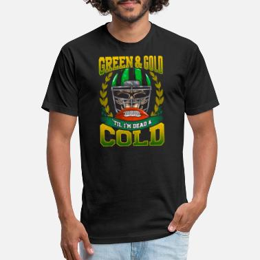 Green And Gold Green and Gold - Unisex Poly Cotton T-Shirt