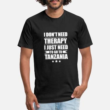 Tanzania Don't Need Therapy Need to go to Tanzania - Unisex Poly Cotton T-Shirt