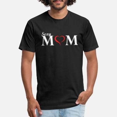 Sexy Mom Sexy Mom Tshirt - Unisex Poly Cotton T-Shirt