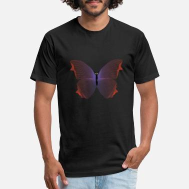 Nightcrawler butterfly design - Unisex Poly Cotton T-Shirt