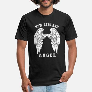 New Zealand England New Zealand angel - Angel's wings - Unisex Poly Cotton T-Shirt