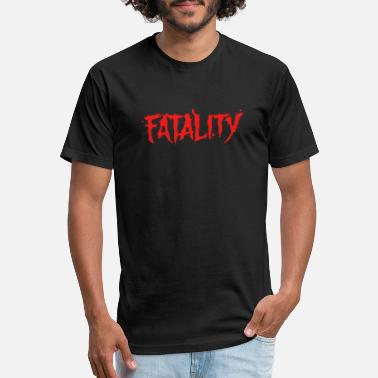 Kombat Fatality - Unisex Poly Cotton T-Shirt