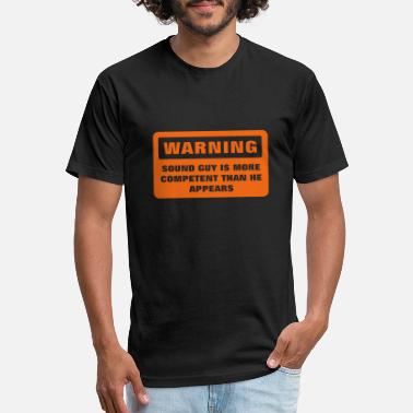 Warning - More Competent - Unisex Poly Cotton T-Shirt