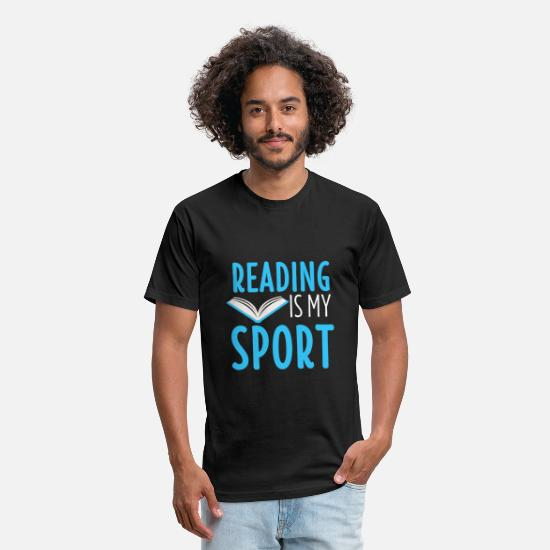 Read T-Shirts - Book Shirt Bookworm Literature Read Reading Gift - Unisex Poly Cotton T-Shirt black