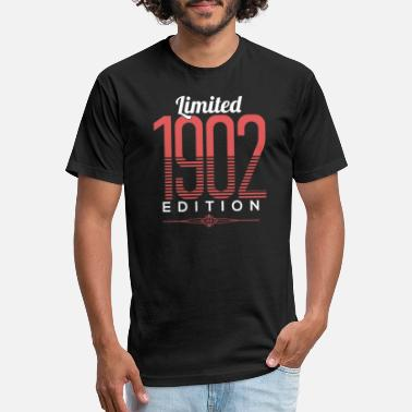 1902 Limited 1902 Edition Birthday Celebration Gift - Unisex Poly Cotton T-Shirt