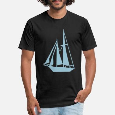 Sailing Boat Sailing Boat - Unisex Poly Cotton T-Shirt