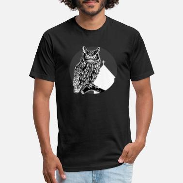 Comedy harry dark owl - Unisex Poly Cotton T-Shirt