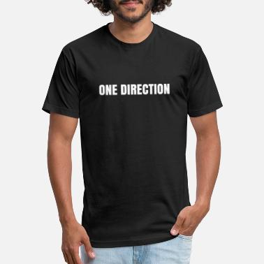 One Directions ONE DIRECTION - Fitted Cotton/Poly T-Shirt by Next Level