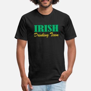 05cffdf67d Irish Drink Quotes Irish drinking Team - Unisex Poly Cotton T-Shirt