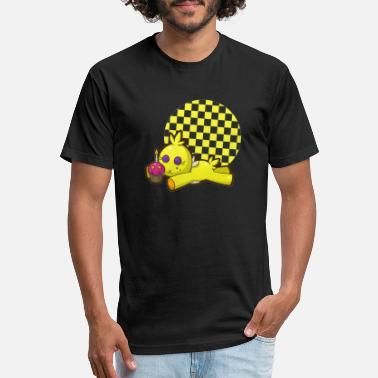 Chica Chica Plushie - Unisex Poly Cotton T-Shirt