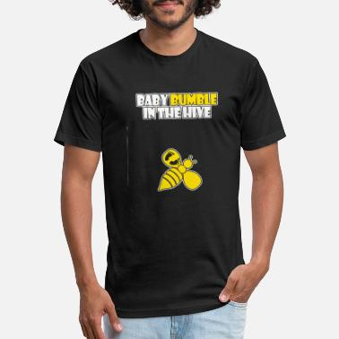 Stinger Beekeeper - baby bumble in the hive - beekeeper - Unisex Poly Cotton T-Shirt