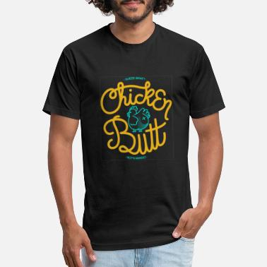hicken butt vector - Unisex Poly Cotton T-Shirt