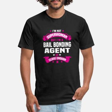 Bonds Bail Bonding Agent - Unisex Poly Cotton T-Shirt