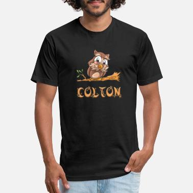Colton Colton Owl - Unisex Poly Cotton T-Shirt