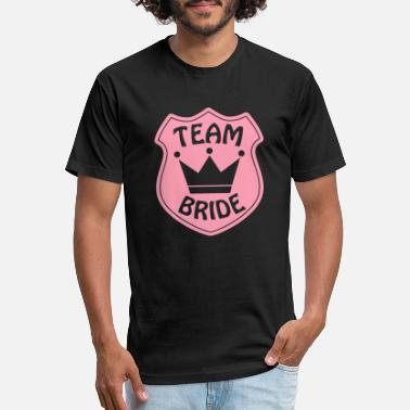 Team Bride Team Bride - Unisex Poly Cotton T-Shirt
