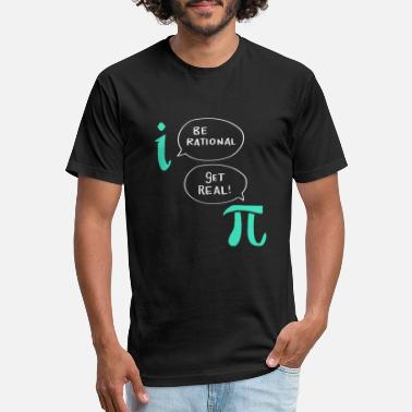 Be Rational Get Real Funny Science T-shirt Geek nerd Math Long Sleeve Tee