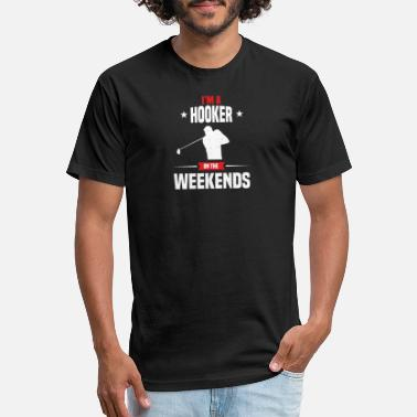 I'm A Hooker On The Weekends - Unisex Poly Cotton T-Shirt