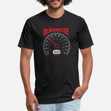 Motorcycle Mechanic Boyfriend Oldometer 50 50th Birthday Gift Bday T Shirt