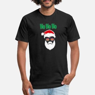 Where Are My Ho Hos at Santa claus Funny Christmas - Unisex Poly Cotton T-Shirt