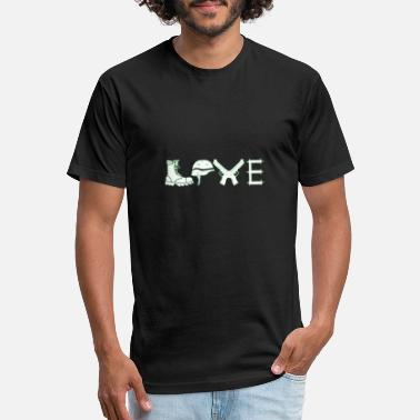 Temporary Soldier soldier professional soldier love Bundeswehr gift - Unisex Poly Cotton T-Shirt