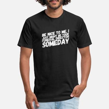 Director Funeral Director - Unisex Poly Cotton T-Shirt