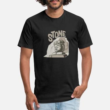 Stone stone - Unisex Poly Cotton T-Shirt