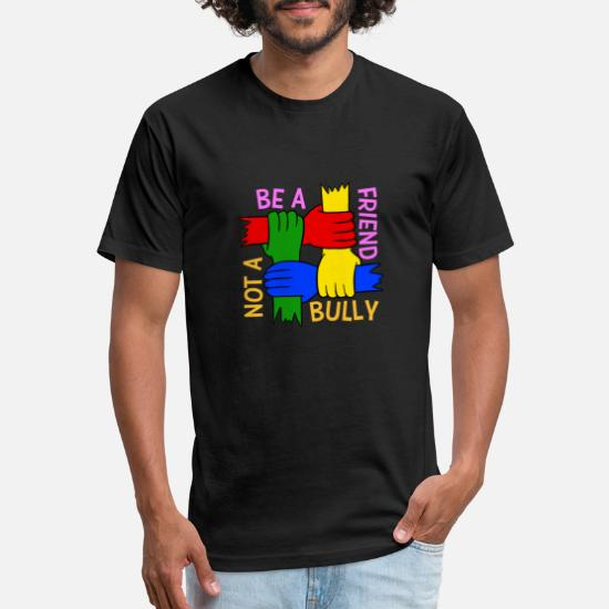 99cfc4b4 Be A Friend Not A Bully Spread Love Stop Bullying Unisex Poly Cotton ...