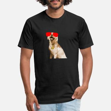 Labrador Labbi Dog T-Shirt Oversubscription - Fitted Cotton/Poly T-Shirt by Next Level