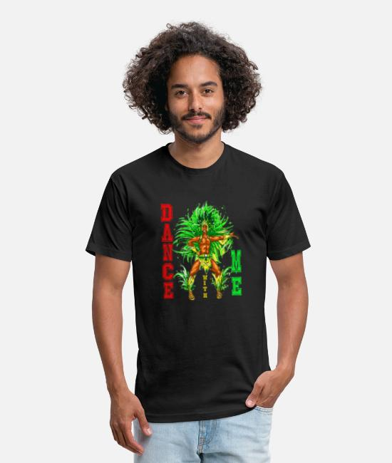Nottingham T-Shirts - Notting hill carnival - Unisex Poly Cotton T-Shirt black