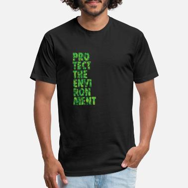 Protection Of The Environment Protect the Environment - Unisex Poly Cotton T-Shirt