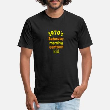 Saturday 1970s Saturday Morning Cartoon Lovers kids - Unisex Poly Cotton T-Shirt
