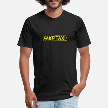 Fake Fake taxi driver - Unisex Poly Cotton T-Shirt