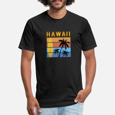 hawaii san diego design - Unisex Poly Cotton T-Shirt