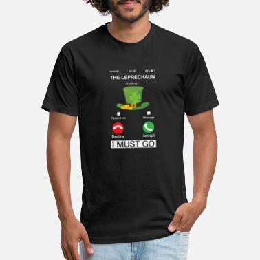 Screen The Leprechaun Is Calling And I Must Go Screen - Unisex Poly Cotton T-Shirt