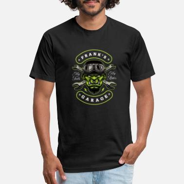 Frank Frank's Garage Personalized - Unisex Poly Cotton T-Shirt