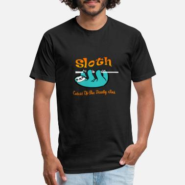 Sin SLOTH cutest of the deadly sins Q - Unisex Poly Cotton T-Shirt
