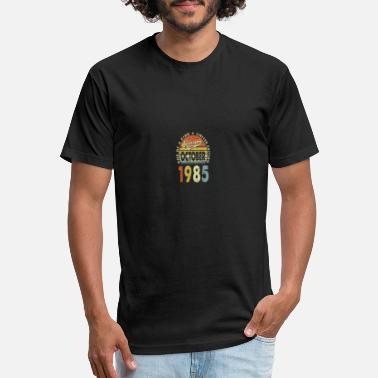 35 Years Old Gifts Vintage October 1985 35th - Unisex Poly Cotton T-Shirt