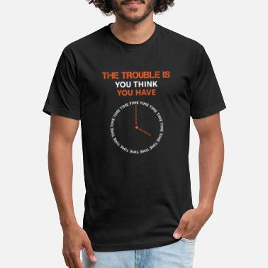 Oversized-t-shirts The Time Trouble Collection - Unisex Poly Cotton T-Shirt