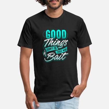 Bait Angler Fisherman Bait fishing present - Unisex Poly Cotton T-Shirt