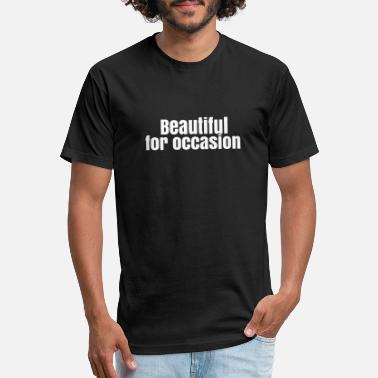 Occasion for occasion - Unisex Poly Cotton T-Shirt