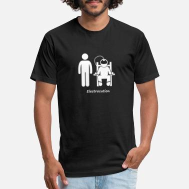 Penalty Kick Death penalty by method electrocution - Unisex Poly Cotton T-Shirt