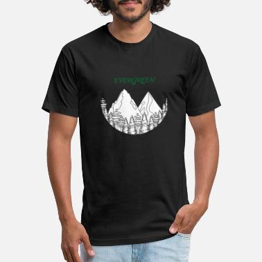 Evergreen evergreen - Unisex Poly Cotton T-Shirt