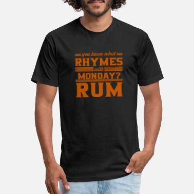 Rum Rum - Unisex Poly Cotton T-Shirt