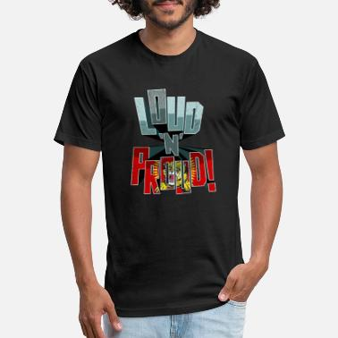 Chennai Tamil Pride Loud N Proud - Unisex Poly Cotton T-Shirt