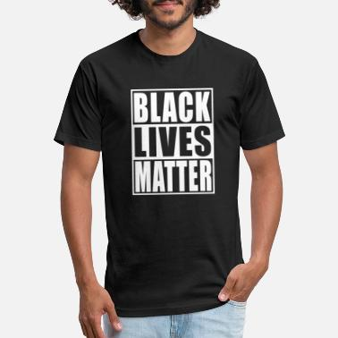 Tell Black Lives Matter - Unisex Poly Cotton T-Shirt